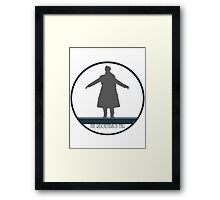 Sherlock: The Fall Framed Print