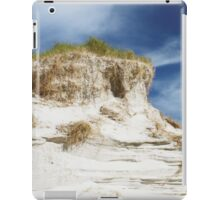 Sand dune cliff iPad Case/Skin