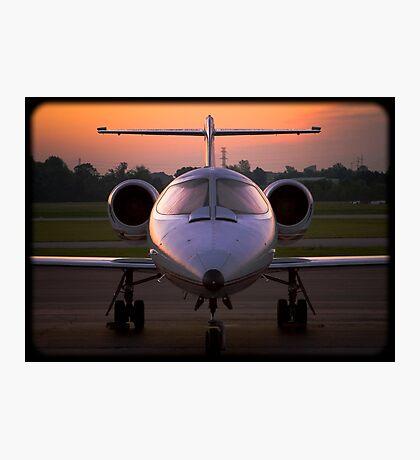Corporate Jet Photographic Print