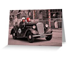 Singer 9 1939 Greeting Card