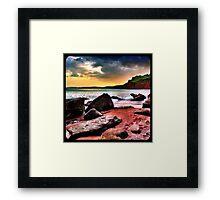 Ness Cove Framed Print