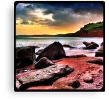 Ness Cove Canvas Print