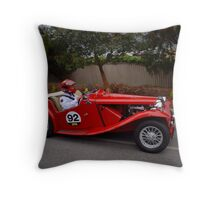 MG TC 1949 Throw Pillow