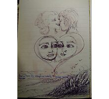 love evol, reflections .... Photographic Print