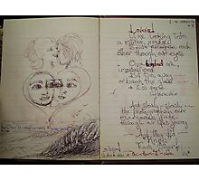 love evol-ve, reflections Photographic Print