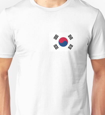 Flag of South Korea Unisex T-Shirt