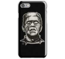Frankenstein pen drawing! iPhone Case/Skin