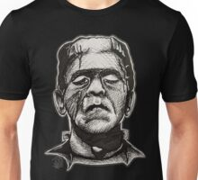 Frankenstein pen drawing! Unisex T-Shirt