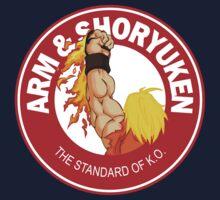 Arm & Shoryuken. The Standard of K.O. Kids Tee