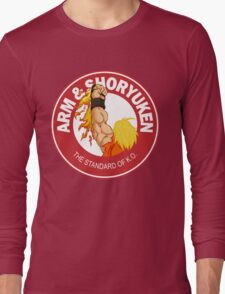 Arm & Shoryuken. The Standard of K.O. Long Sleeve T-Shirt