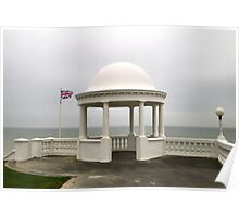 BEXHILL DOME AND FLAG Poster