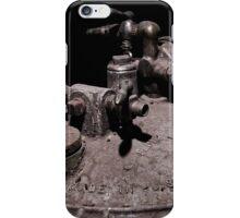 Old Mine Equipment Steam Punk iPhone Case/Skin