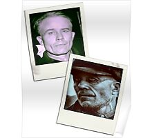 Ed Gein Double Photo Stack Poster