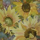Sunflowers in the Afternoon by Anne Bonner