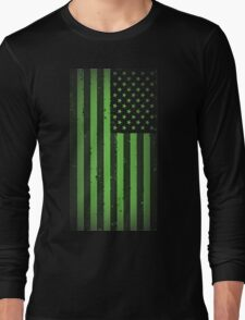 American idiot flag- Green Day Long Sleeve T-Shirt