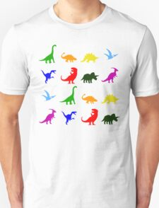 Fun Dinosaur Pattern T-Shirt
