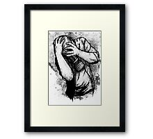 Drifting Shadows Framed Print