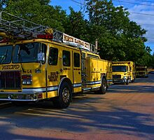 North Kansas City, Missouri Fire Department Vehicles by TeeMack