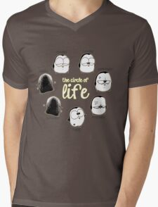 The Circle of Life Mens V-Neck T-Shirt