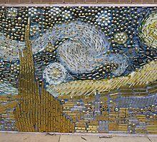 Van Gogh's 'Starry Night' expressed in hardware by nealbarnett