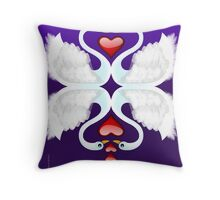 LOVE ON A POND Throw Pillow