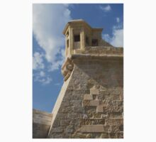 Maltese Knights Legacy - Fort St Elmo Bastion Watch Tower One Piece - Short Sleeve