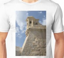 Maltese Knights Legacy - Fort St Elmo Bastion Watch Tower Unisex T-Shirt