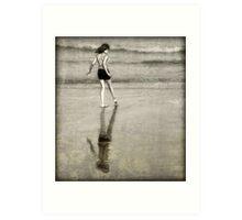 Reflecting Shore Art Print