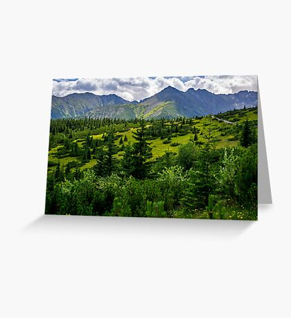 High Tatras Greeting Card