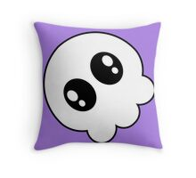Chibi Skull Throw Pillow