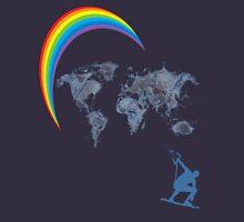 kitesurfen, rainbow Unisex T-Shirt