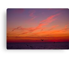 Cold Mornings.. Canvas Print