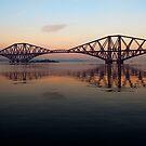 Forth Rail Bridge - Ribbon Across The Sky by Kevin Skinner