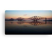 Forth Rail Bridge - Ribbon Across The Sky Canvas Print