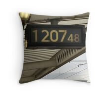 The Keeper Of Time Throw Pillow