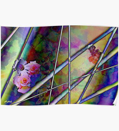 Flowers & Chopsticks! Poster