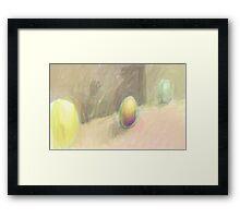 Scheme 4 (egg) Framed Print
