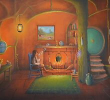 Bag End In a hole in the ground by Joe Gilronan