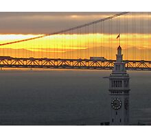 Ferry Building Clock Tower Photographic Print