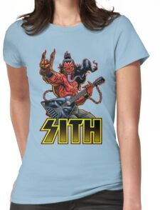 SATAN IN THE HOUSE! Womens Fitted T-Shirt