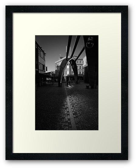 Angle of Reflection - Blackpool, Fylde, Lancs, UK by Simon Lupton