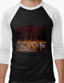 Torquay Harbour Lights Men's Baseball ¾ T-Shirt