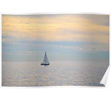 Morning Sailing Poster
