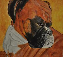 Gandolf, The Grumpy Boxer by Tricia Winwood