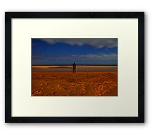 Ghost at the Shore's Edge Framed Print