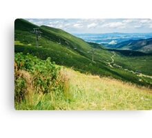 On The Way To Kasprowy Wierch Canvas Print