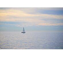Peaceful Sailing Photographic Print