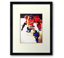Transformers Generation Optimus Prime Framed Print