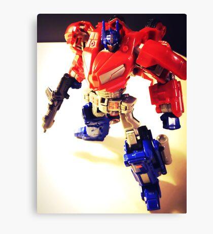 Transformers Generation Optimus Prime Canvas Print