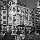 Street Scene, Valencia by Philip Bateman